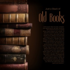 Фототапет Hobby Книги 0002